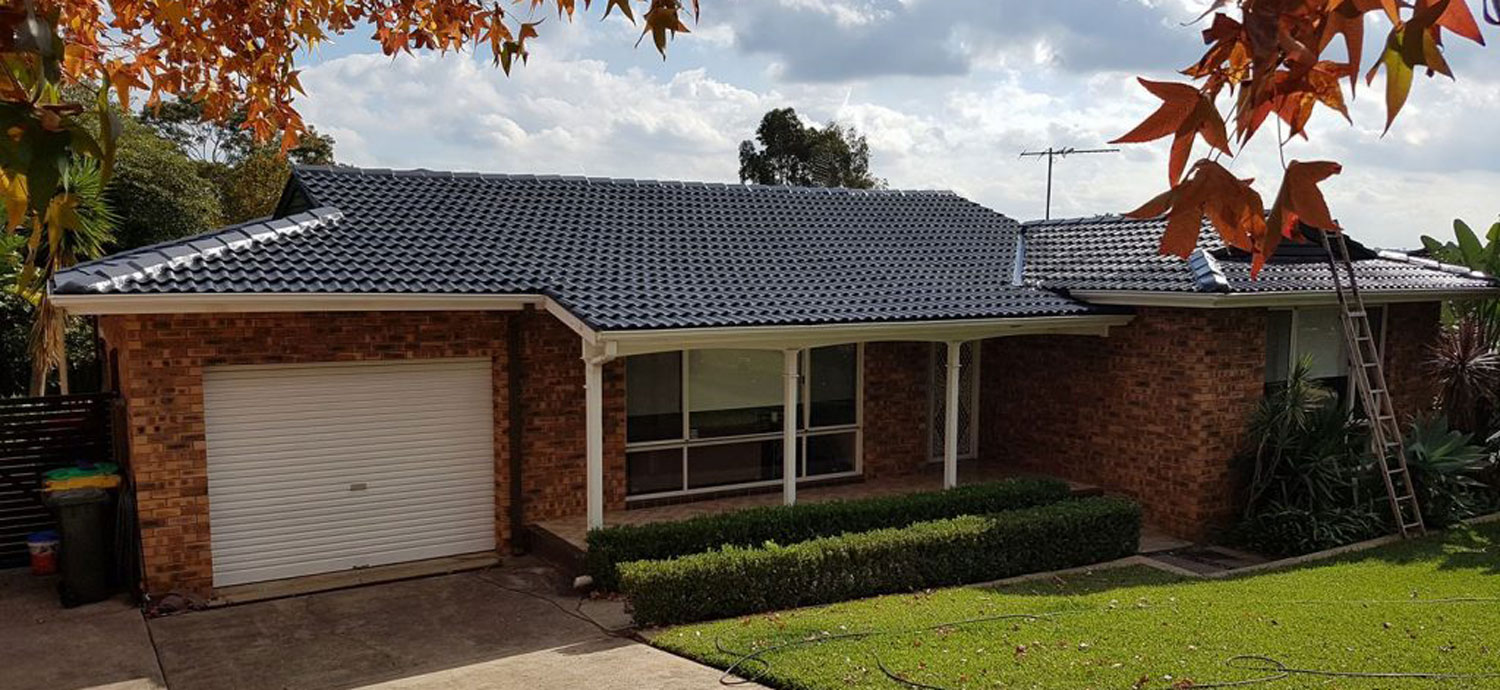 Roof Cleaning Campbelltown by OzPix Discount Roof Restoration